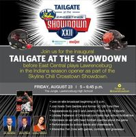 Skyline Showdown Tailgate Friday (8/23/19) Before the Tigers Take on East Central