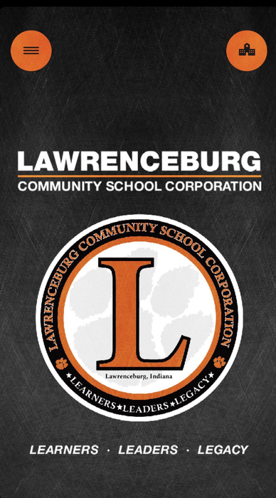 The new Lawrenceburg Community School Corporation app.