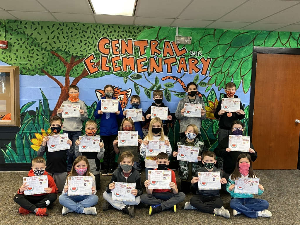 Students of the month for January