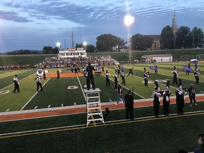 Halftime performance by LHS Marching Band. #LawrenceburgLegacy