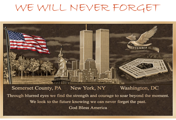 We remember September 11, 2001.