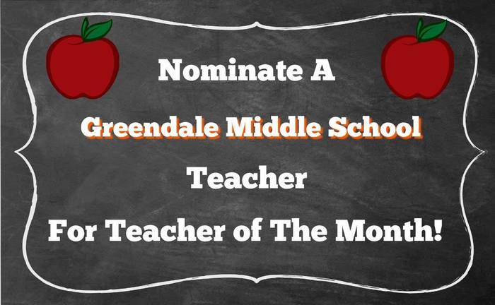 Nominate a GMS Teacher