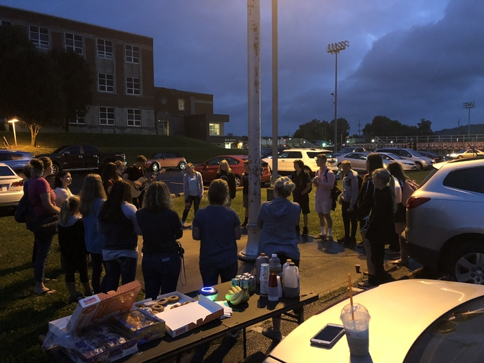 Meet You At The Pole @ Lawrenceburg HS