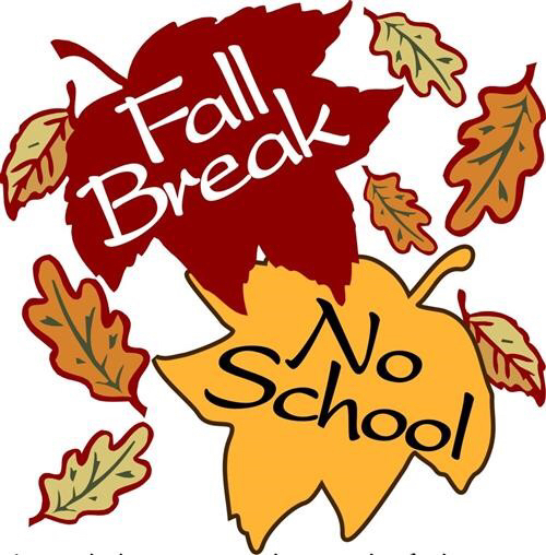 Fall Break October 1 - 12.