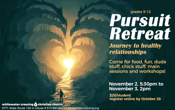 High School Retreat on November 2 and 3.