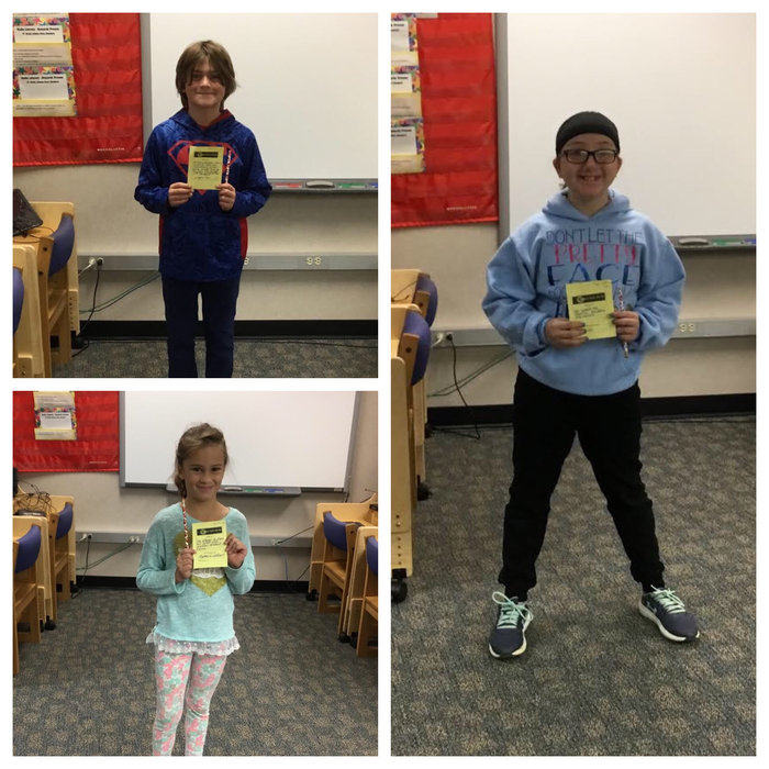 Kindness Winners.