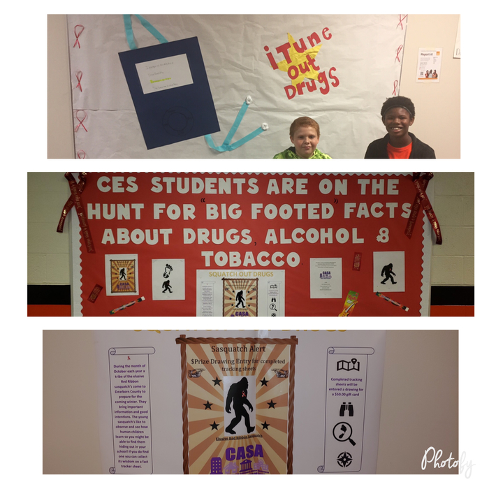 Red Ribbon Week Bulletin Boards