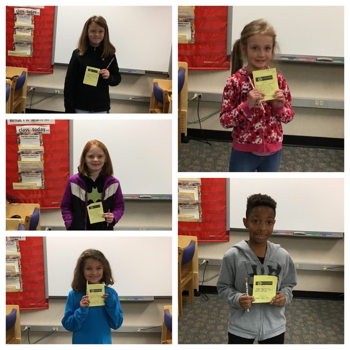 Kindness Award Winners for the week!