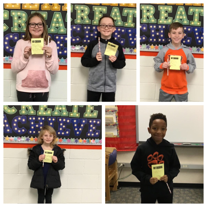 Kindness Winners!