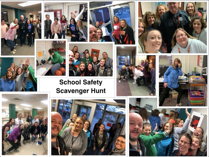 Staff Scavenger Hunt for Safety