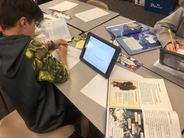 Reading and google slides