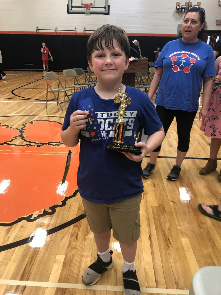 3rd Grade Champion Will Clemons