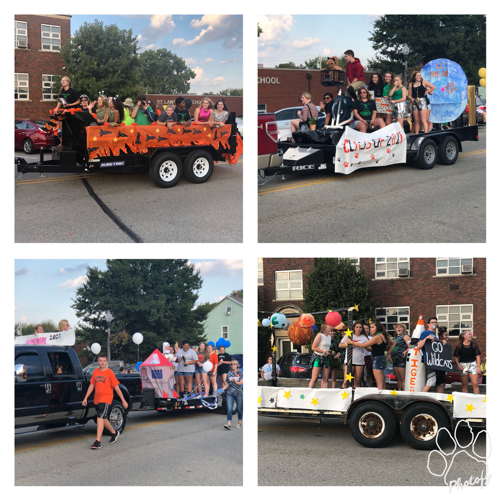 2019 Homecoming Class Floats