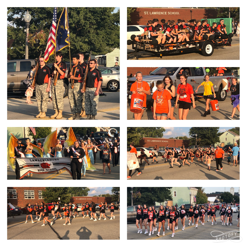 2019 Homecoming Parade Photos