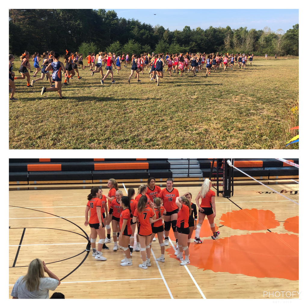 Cross Country and Volleyball