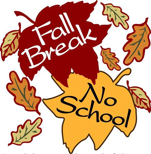 Fall Break; September 30 - October 11