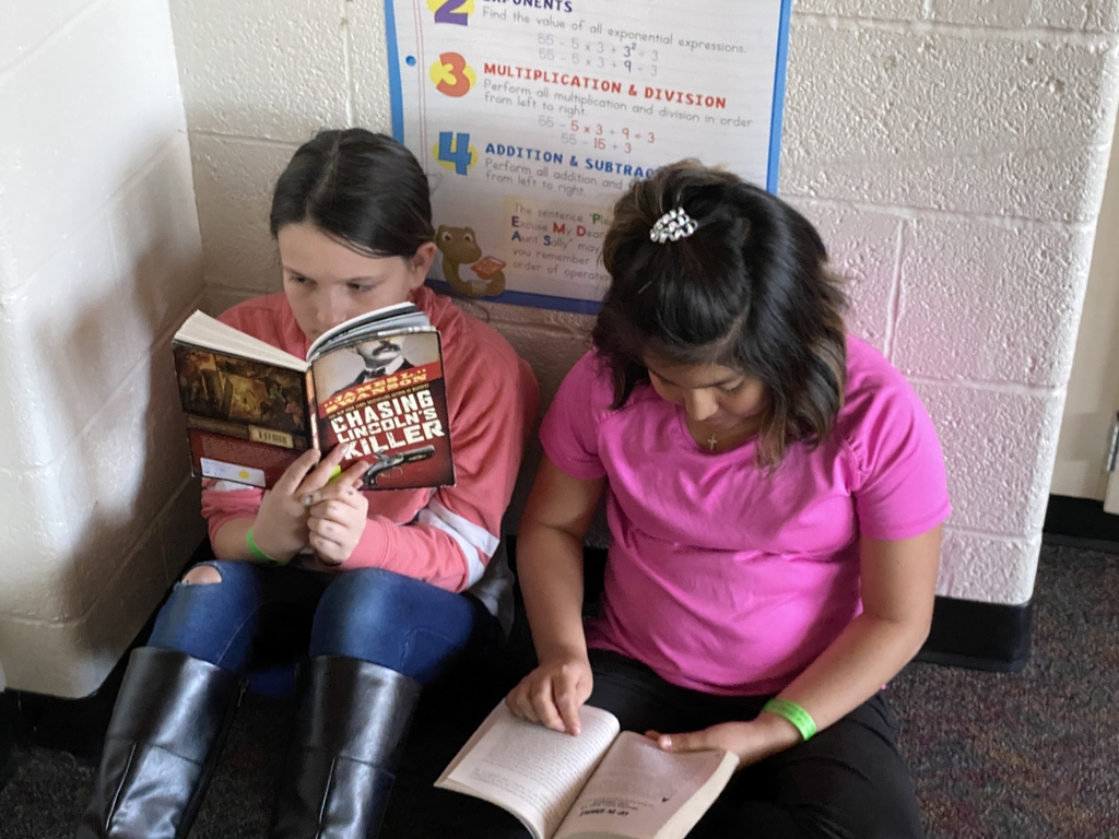 Reading for Read-A-Thon