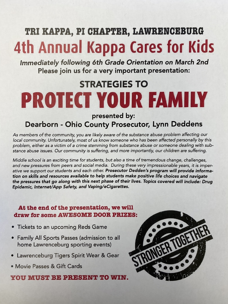 Kappa cares for kids